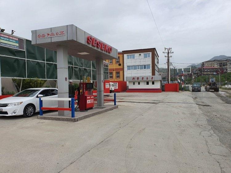 Oil depot Batumi