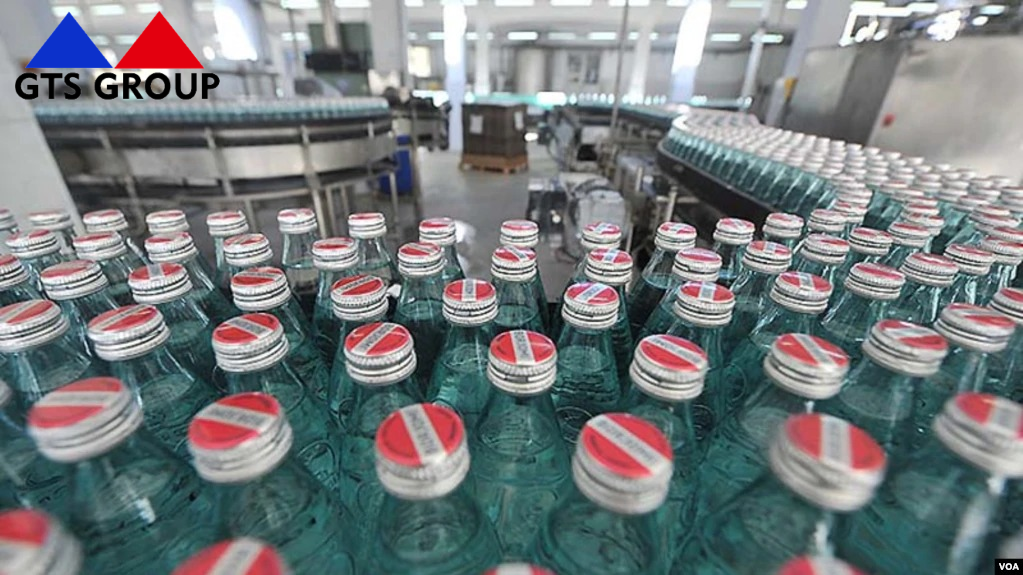 The construction process of a new bottling plant in Borjomi has just started! The supply of anti-corrosion and fire-resistant paints is carried out by